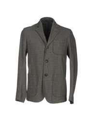 Mauro Grifoni Suits And Jackets Blazers Men Dark Green
