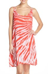 Women's Lucky Brand 'Fireworks' Cover Up Dress