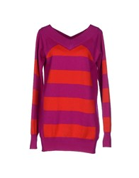 Aquilano Rimondi Sweaters Purple
