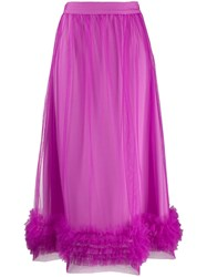 Molly Goddard Tulle Layer Skirt Pink
