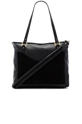 Sancia Weekend Escape Whip Stitch Bag Black
