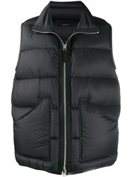 Tom Ford Feather Down Padded Jacket Black