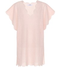 Marysia Shelter Island Cotton Cover Up Pink