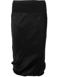 Rick Owens Fitted Skirt Black