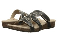 Aetrex Kristen Black Women's Sandals