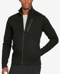 Polo Ralph Lauren Sport Men's Double Knit Tech Track Jacket Polo Black