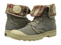 Palladium Baggy Boue Women's Lace Up Boots Gray