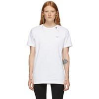 Off White Abstract Arrows Slim T Shirt