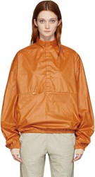 Yeezy Season 3 Orange Nylon Packable Windbreaker