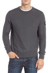 Canada Goose Paterson Merino Sweater Iron Grey
