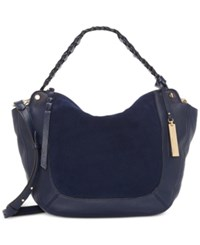 Vince Camuto Luela Small Shoulder Bag A Macy's Exclusive Style Winter Navy