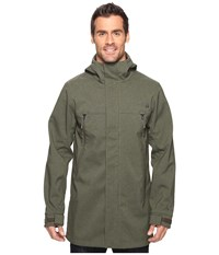 The North Face Apex Bionic Trench Coat New Taupe Green Heather Men's Coat Gray