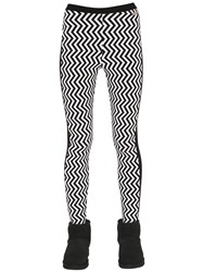 Jet Set Zigzag Knit Ski Leggings