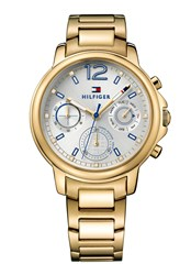 Tommy Hilfiger Th742 Ladies Gold Bracelet Watch Gold