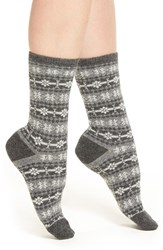Ralph Lauren Women's Fair Isle Crew Socks