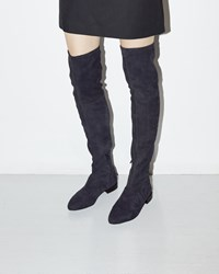 3.1 Phillip Lim Louie Tall Suede Boot Night