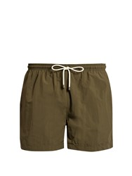 Solid And Striped The Classic Swim Shorts Green