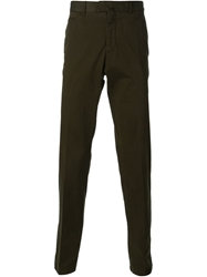 Zegna Sport Chino Trousers Green