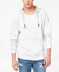 American Rag Men's Washed Raglan Sleeve Hoodie Created For Macy's Bright White