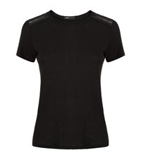 Maje Tommy T Shirt Female Black