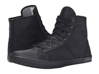 Tretorn Hockey Boot Rip Stop Black Black Men's Lace Up Casual Shoes