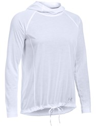 Under Armour Threadborne Training Hoodie White
