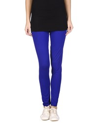 Le Coeur De Twin Set Simona Barbieri Trousers Leggings Women Bright Blue