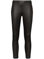 Ann Demeulemeester Slim Leg Leather Leggings 60