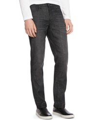 Kenneth Cole Reaction Black Wash Straight Slim Fit Jeans