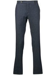 Entre Amis Tailored Trousers Blue
