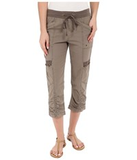 Xcvi Emerson Crop Mink Women's Casual Pants Brown