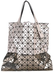 Issey Miyake Bao Bao Graphic Print Tote Bag Women Cotton Pvc One Size Metallic