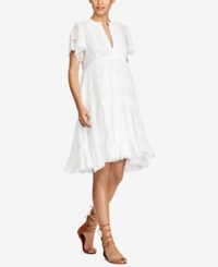 Denim And Supply Ralph Lauren Fit Flare Cotton Dress Great White Dress Moved Up From Summer