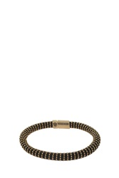Carolina Bucci Twister Bracelet Black