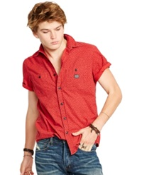 Denim And Supply Ralph Lauren Floral Cotton Workshirt
