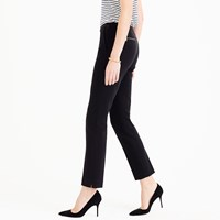 J.Crew Tall Back Zip Pant In Bonded Crepe