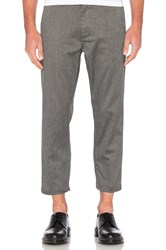Obey Straggler Flooded Pant Grey