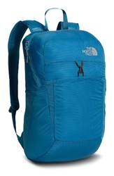 The North Face 'Flyweight' Water Resistant Pack Blue Banff Blue Metallic Silver