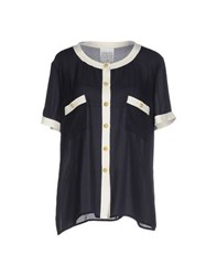 Edward Achour Shirts Shirts Women Dark Blue