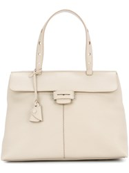 Myriam Schaefer Baby Lord Shoulder Bag Nude And Neutrals