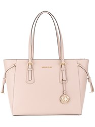 Michael Michael Kors Voyager Tote Leather Nude Neutrals