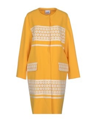 Moschino Cheap And Chic Moschino Cheapandchic Full Length Jackets Yellow