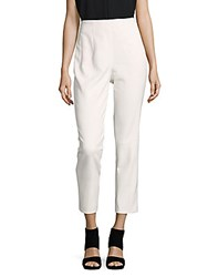Akris Solid Cropped Pants Ivory