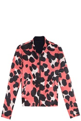 Paul And Joe Sister X Ella Rose Richards Reversible Bomber Jacket Red