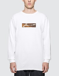 Sophnet. Box Logo Long Sleeve T Shirt White