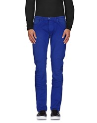 M Mamuut Denim Denim Denim Trousers Men Bright Blue