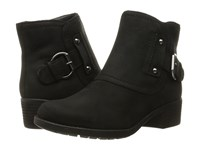 Hush Puppies Proud Overton Black Wp Leather Women's Boots