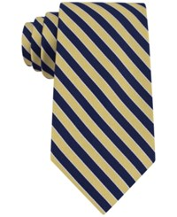 Club Room Men's Classic Diagonally Striped Tie Only At Macy's Yellow
