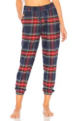 Plush Ultra Soft Flannel Jogger Royal