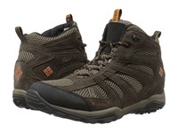 Columbia North Plains Drifter Waterproof Mud Bright Copper Men's Shoes Brown